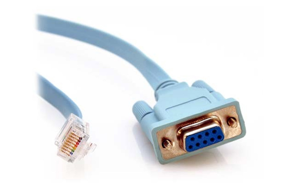 Csisto 1200 Platform console cable, RJ45 - DB9