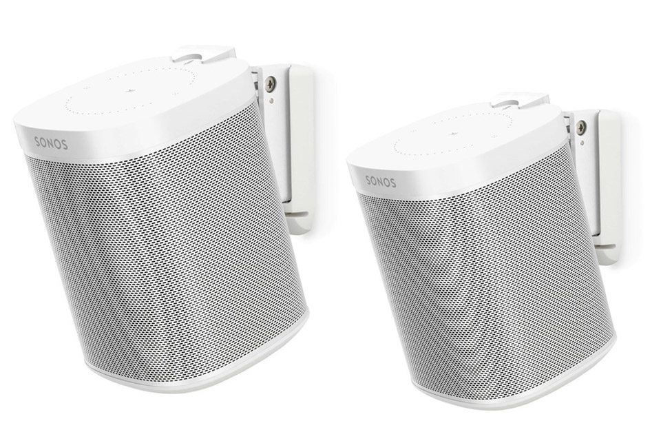 Sonos One - Dual pack, white