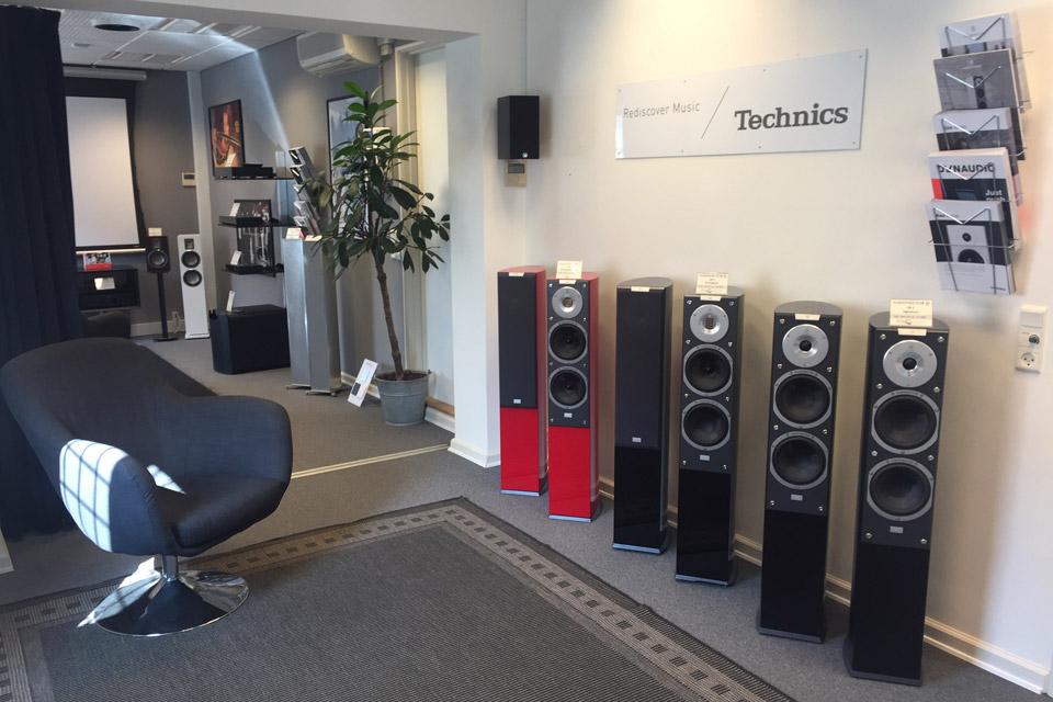 , AV-Connection Odense 1. sal: Hi-Fi stereo demorum