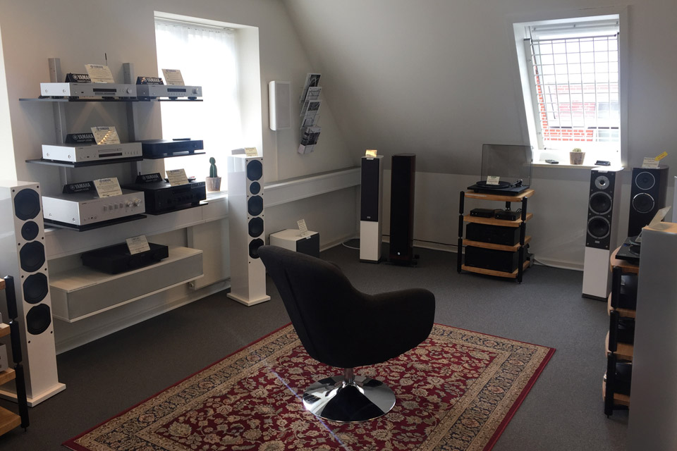 , AV-Connection Odense 1. sal: High-End stereo