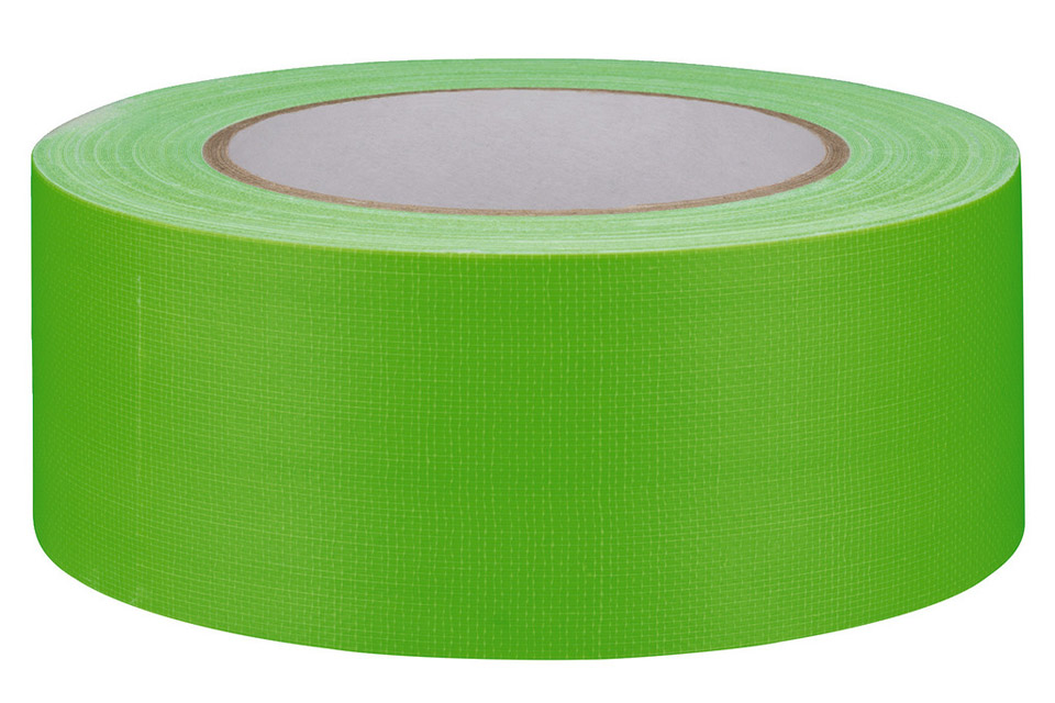 Gaffa-tape stor neon grøn