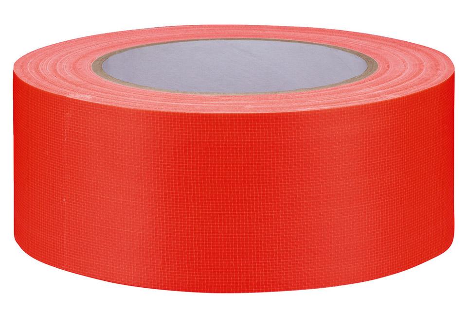 Gaffa-tape stor neon orange