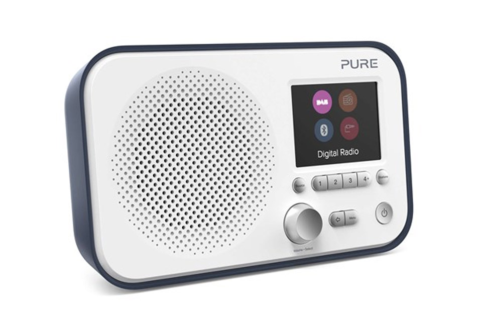 Pure Elan BT3 FM/DAB+ Radio, skifer blå