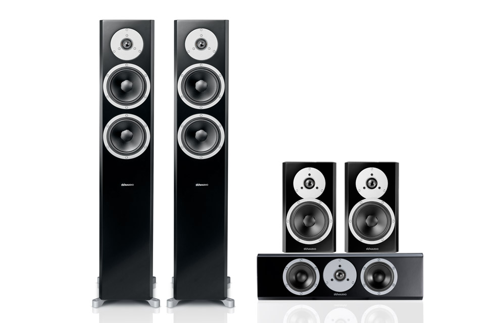 Dynaudio Excite 5.0 surround system, sort
