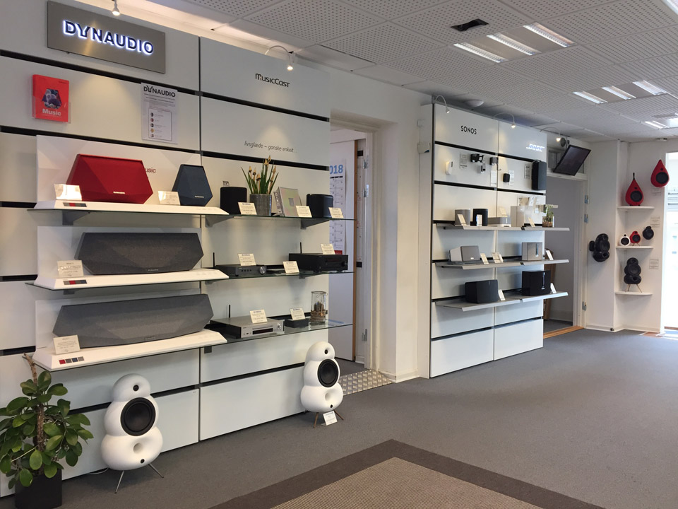 , AV-Connection Odense Store: Hi-Fi and multiroom audio