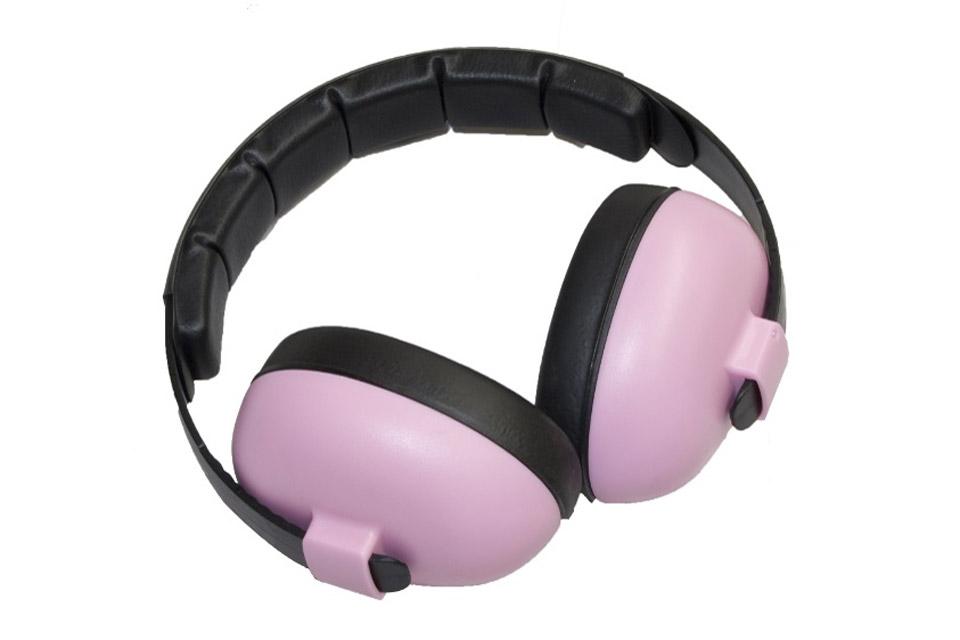 Baby Banz Mini høreværn, pink