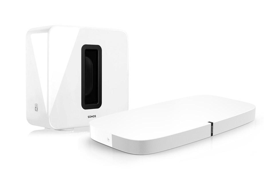 SONOS Playbase incl. Sonos SUB, white