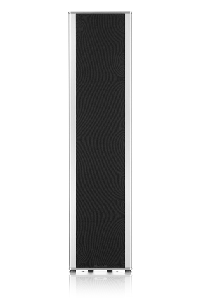 Piega Coax 711, alu sølv / sort frontgrill