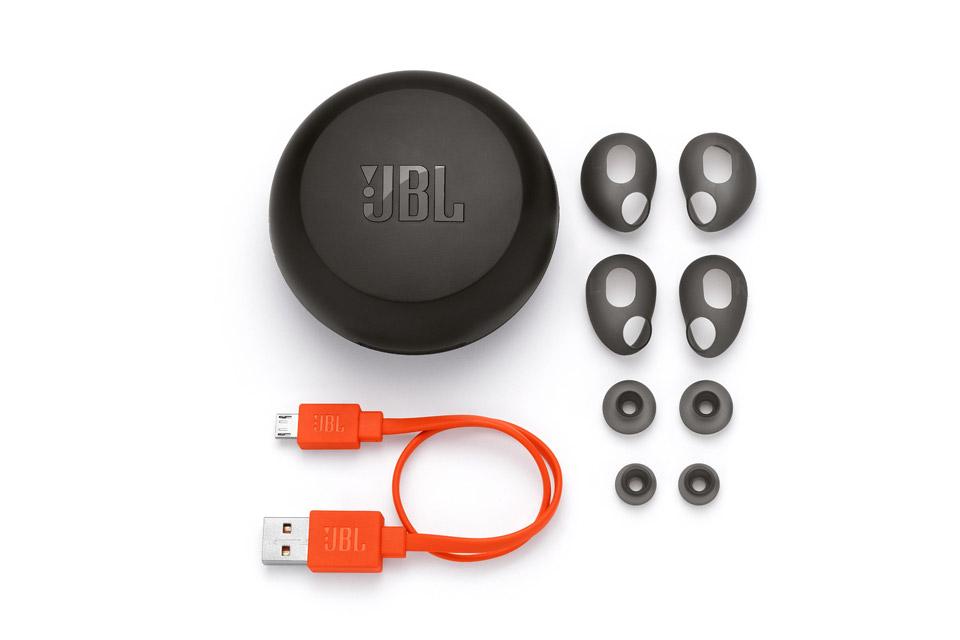 JBL Free trådløse hovedtelefoner, sort