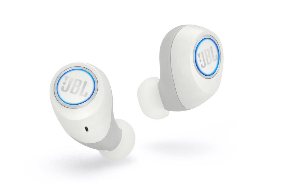 JBL Free trådløse hovedtelefoner, hvid