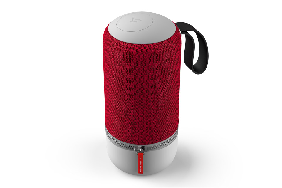 Libratone Zipp Mini 2 smart højtaler, cranberry red