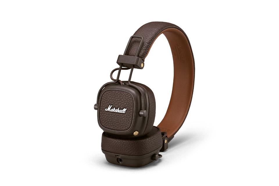 Marshall Major III Bluetooth, brown