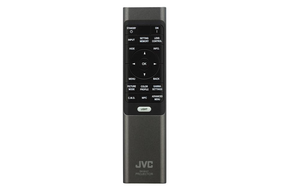 JVC DLA-N fjernbetjening