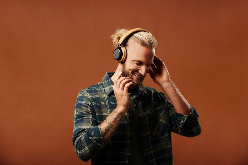 SACKit TOUCHit hovedtelefoner, golden
