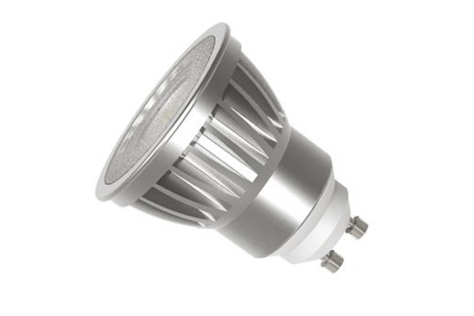 Unik SunFlux GU10 LED spot pære (6.5W, 2100-2700K, 40º) CTC Softtone UV85