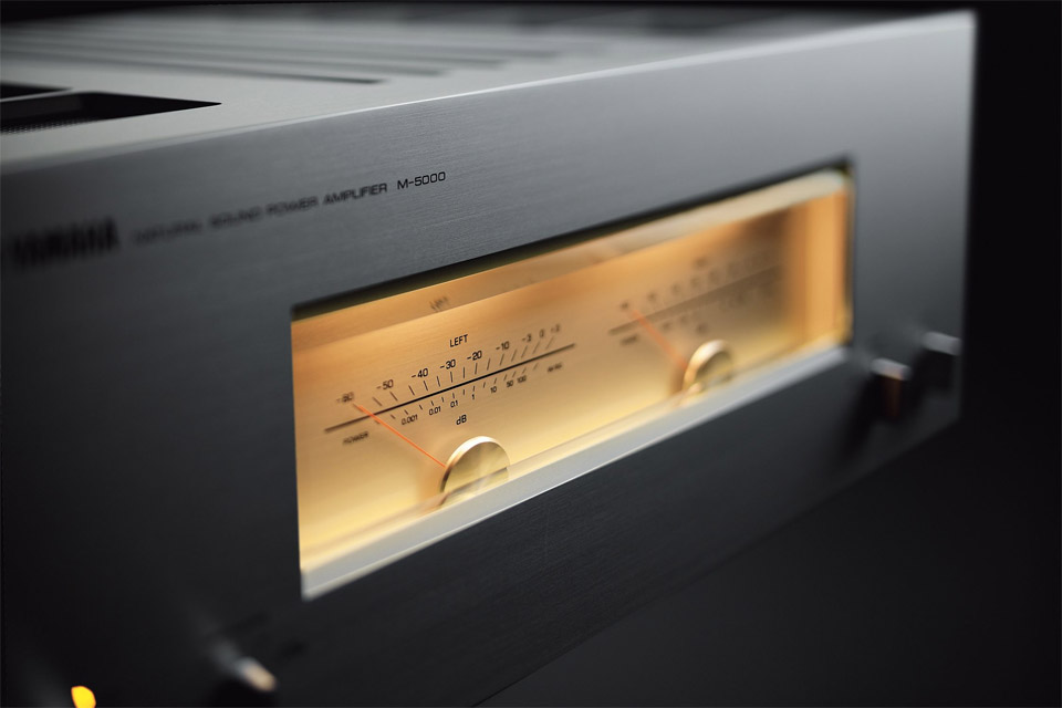 Yamaha M-5000 effektforstærker, titan