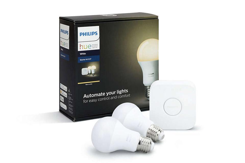 Philips Hue White starter kit med bro