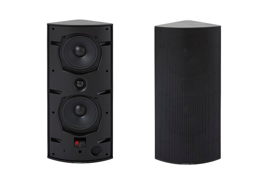 Cornered Audio CI5 højtaler, sort