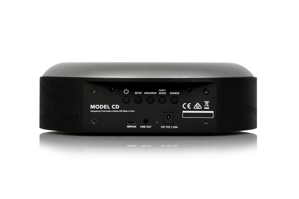 Tivoli Audio Model CD, sort