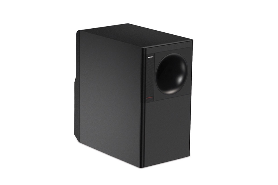 FreeSpace 3 Series, Acoustimass bas, black