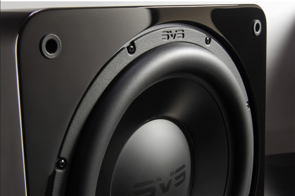 SVS SB3000 subwoofer, sort højglans