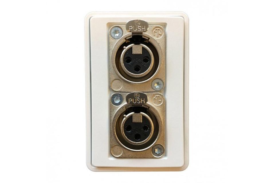 3-pin XLR vægdåse