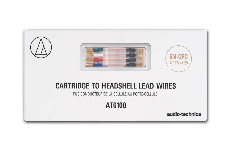 AT6108 headshell lead wires