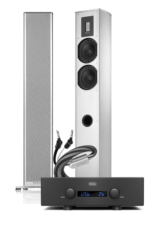 PIEGA Premium 701 + Hegel H360, sølv
