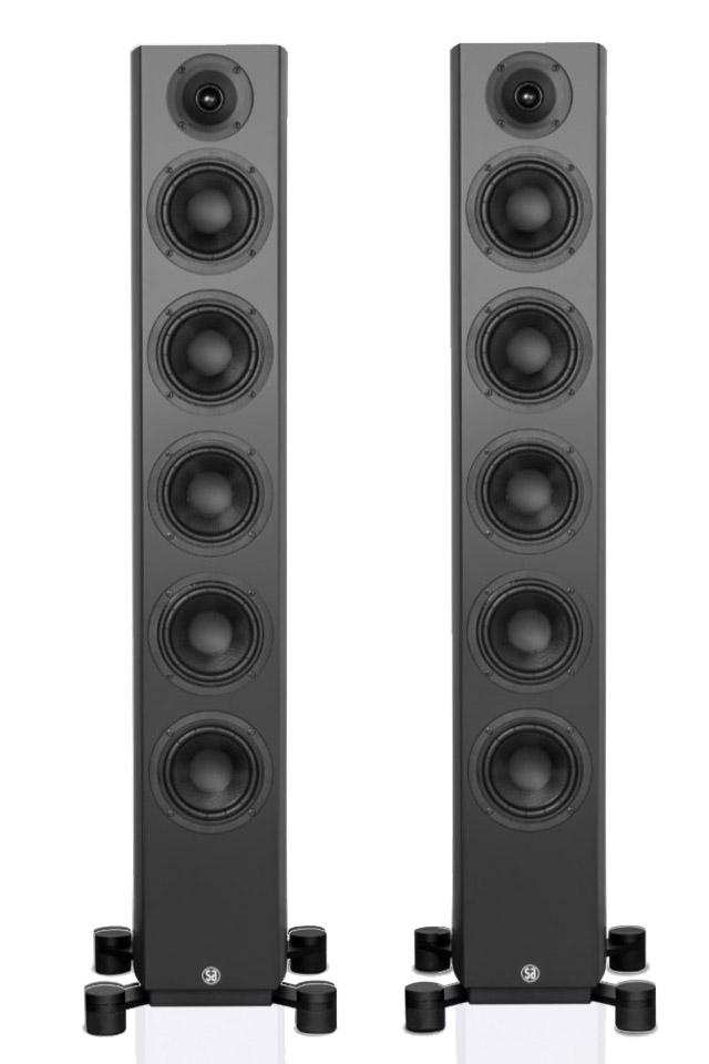 System Audio Legend 60 gulvhøjttaler, sort