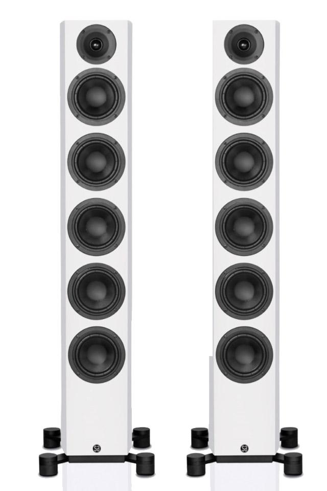 System Audio Legend 60 gulvhøjttaler, hvid