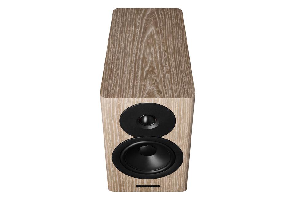 Dynaudio Evoke 10 reol-højtaler, blonde wood