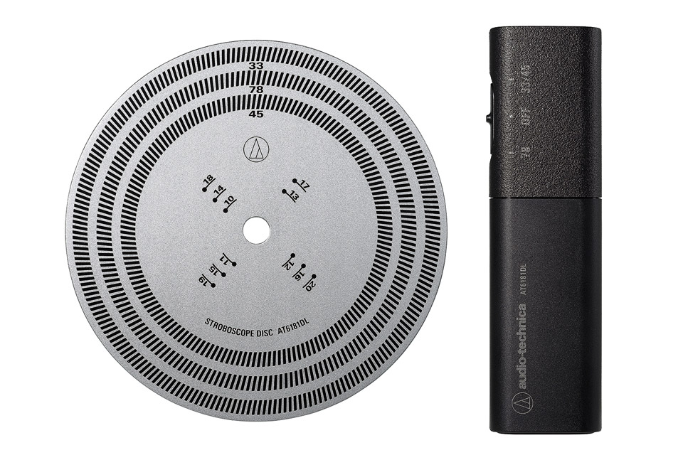 Audio Technica Stroboscope DISC and light kit
