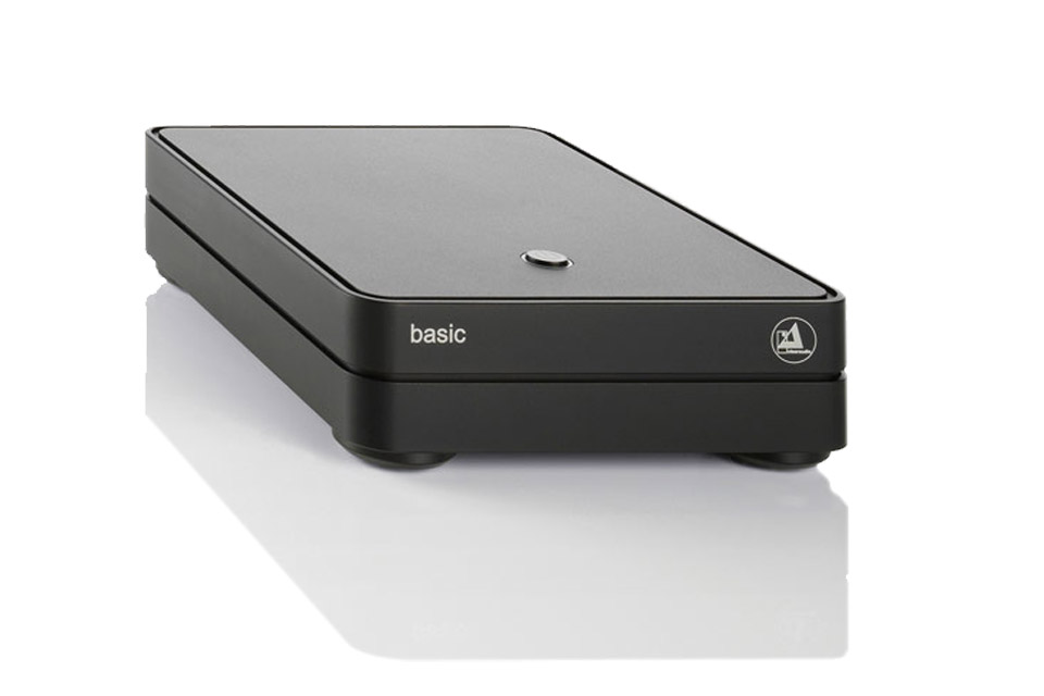 ClearAudio Basic V2 RIAA forstærker, sort