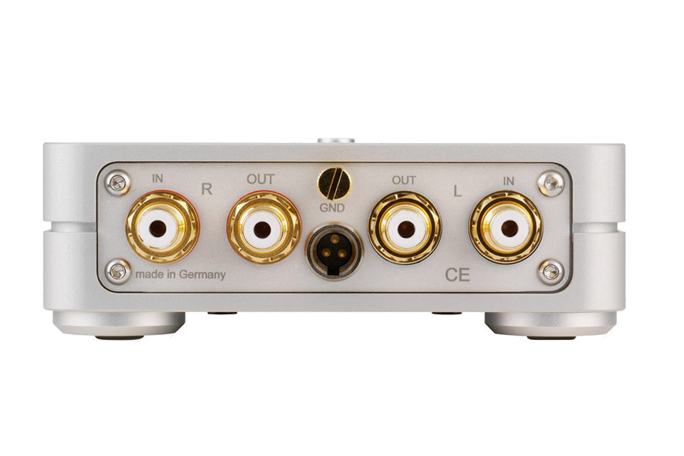 ClearAudio Basic V2 RIAA forstærker, rear