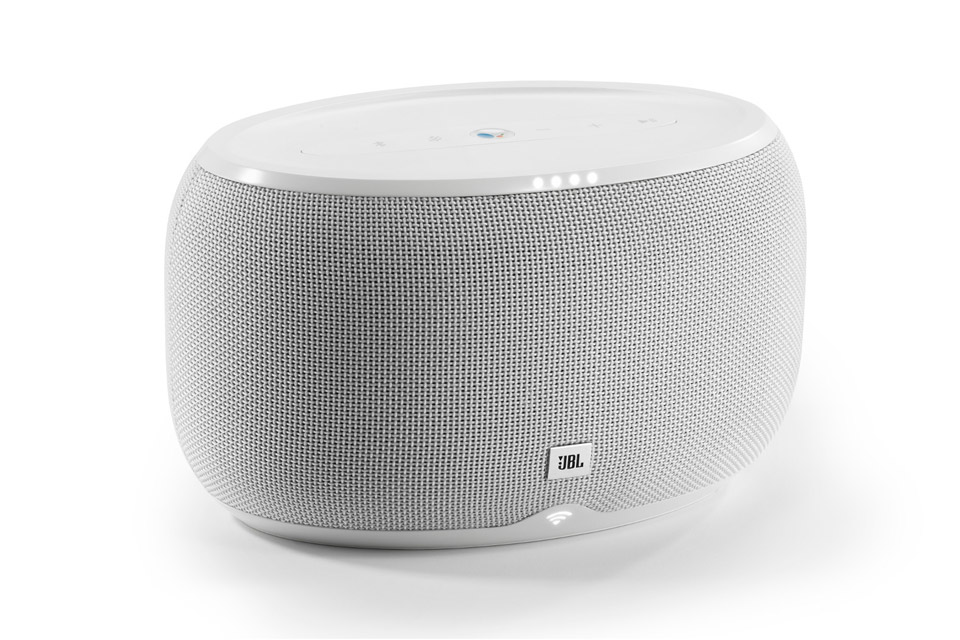 JBL Link 300 smart højtaler, hvid