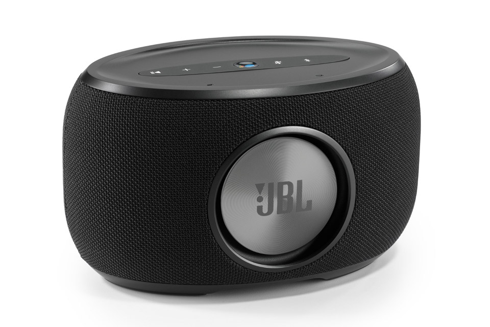 JBL Link 300 smart højtaler, sort
