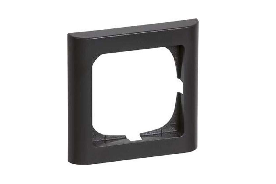 LK FUGA softline ramme, 1 modul, koksgrå