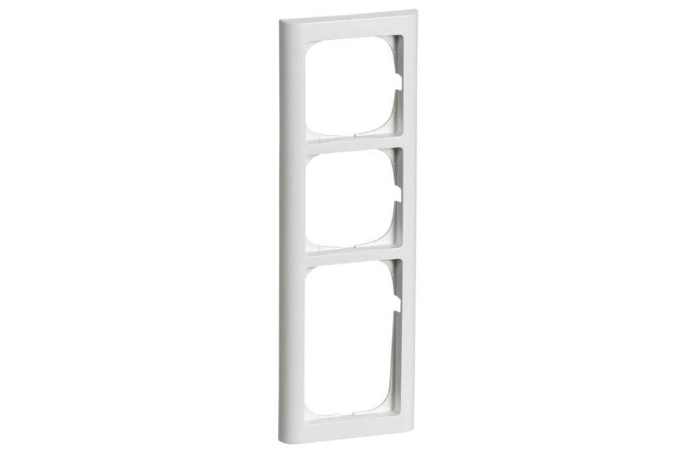 FUGA Softline ramme 3.5 modul, hvid