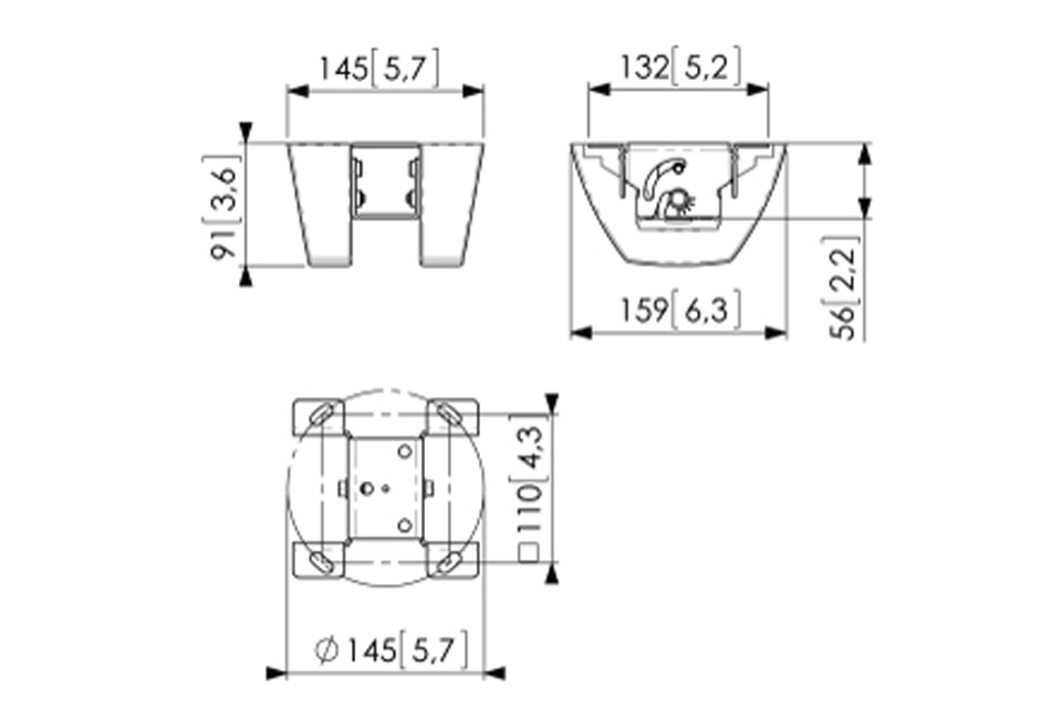 Vogels Pro PUC 1035 loftbeslag, sheet