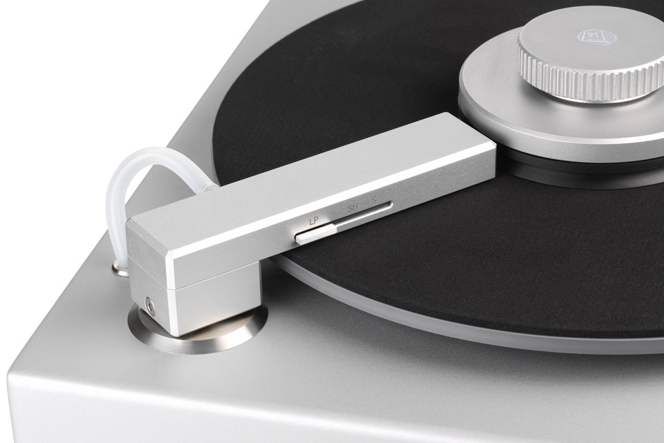 ClearAudio Smart Matrix Silent pladevasker, sølv