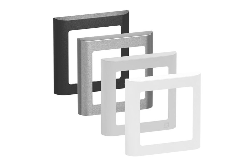 LK FUGA Softline designramme, 1 modul, alle