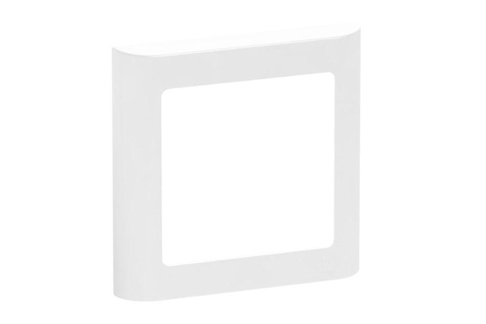 LK FUGA Softline designramme, 1 modul, hvid