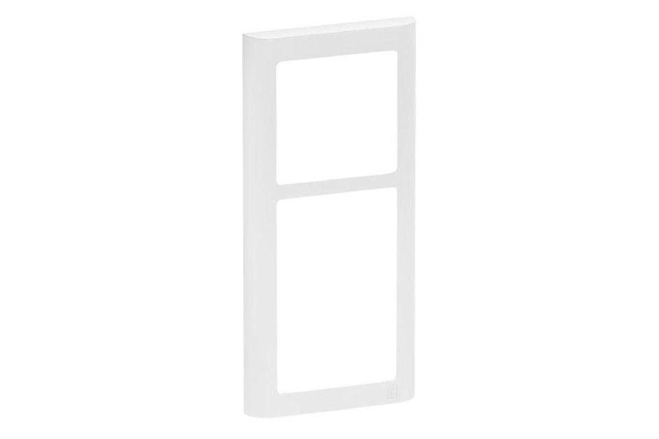 LK FUGA Softline designramme, 2,5 modul, hvid