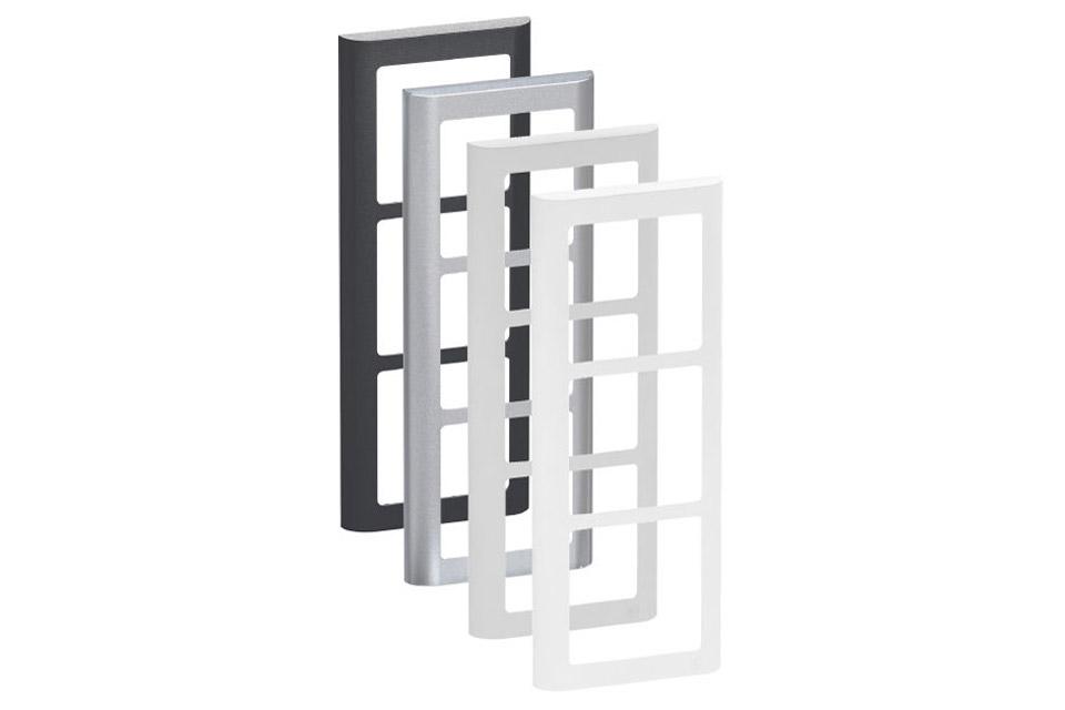 LK FUGA Softline Design ramme, 3 modul, alle farver