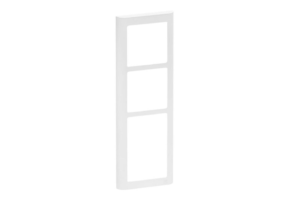 LK FUGA Softline designramme, 3,5 modul, hvid