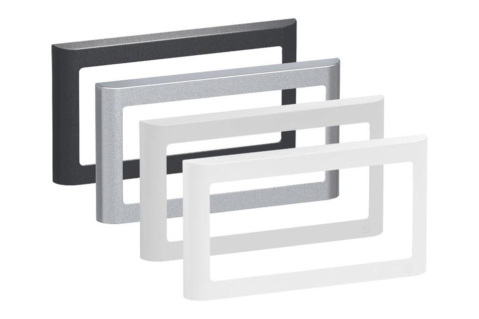 LK FUGA Softline designramme, 1x2 modul, alle farver