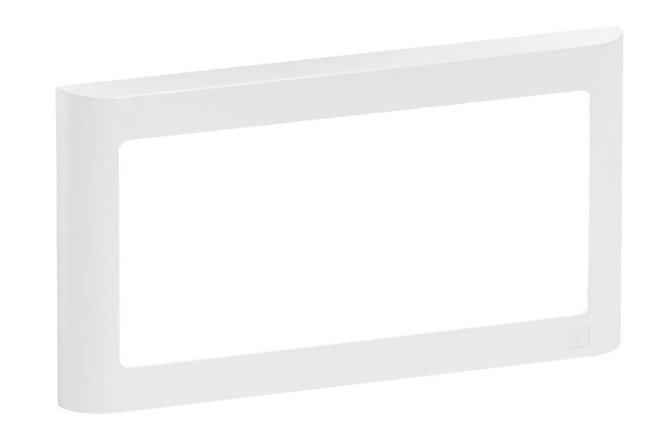 LK FUGA Softline designramme, 1x2 modul, hvid