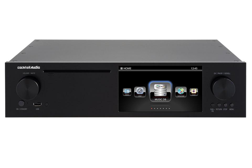 Cocktail Audio X-50D streamer, sort