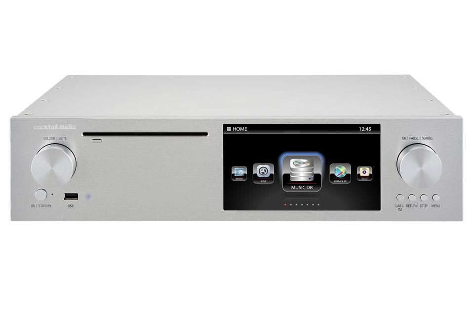 Cocktail Audio X-50D streamer, sølv