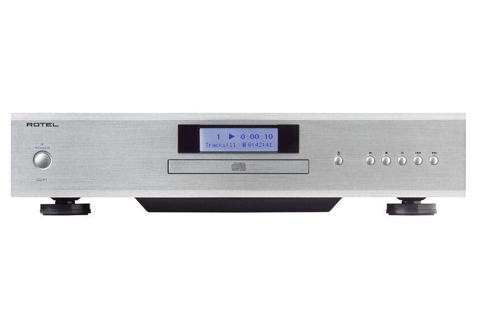 Rotel CD11 Cd-afspiller, sølv
